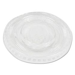 Boardwalk Soufflé/Portion Cup Lids, Fits 2 oz Portion Cups, Clear, 2500/Carton