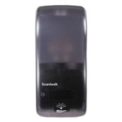 Boardwalk Rely Hybrid Liquid Soap and Hand Sanitizer Dispenser, 900 mL, 5.5 in x 4 in x 12 in, Black