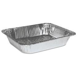 Boardwalk Half Size Aluminum Steam Table Pan, Deep, 100/Carton