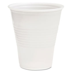 Boardwalk Translucent Plastic Cold Cups, 12 oz, Polypropylene, 20 Cups/Sleeve, 50 Sleeves/Carton