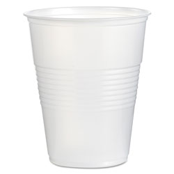 Boardwalk Translucent Plastic Cold Cups, 16 oz, Polypropylene, 20 Cups/Sleeve, 50 Sleeves/Carton