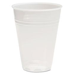 Boardwalk Translucent Plastic Cold Cups, 7 oz, Polypropylene, 25 Cups/Sleeve, 100 Sleeves/Carton