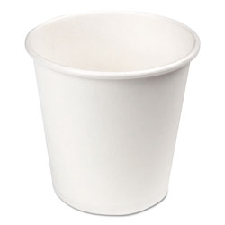 Boardwalk Paper Hot Cups, 4 oz, White, 20 Cups/Sleeve, 50 Sleeves/Carton