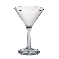 Cambro Camwear® Barware Martini 10 oz. Clear