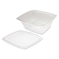 Dart Container ClearPac Clear Container Lid Combo-Packs, 6 1/2 x 7 1/2 x 2.7, 63/Pack, 4 Pk/Ctn