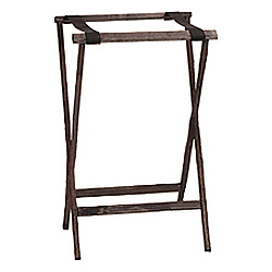 Carlisle Foodservice Products Walnut Wood Stand, 30""