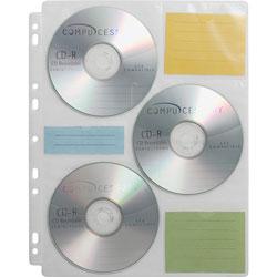 Compucessory 22297 CD Media Binder Refill