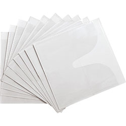 Compucessory 26555 Self Adhesive Poly CD/DVD Holders