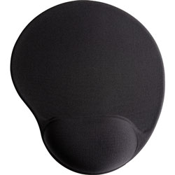 "Compucessory 55151 Black Gel Mouse Pad, 9"" x 10"" x 1"" Black"