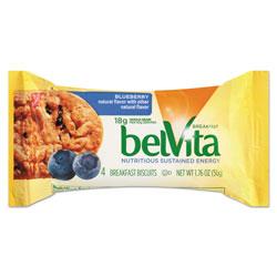 Nabisco belVita Breakfast Biscuits, Blueberry, 1.76 oz Pack