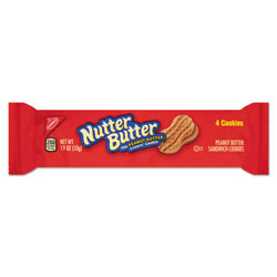 Nabisco Nutter Butter Cookies, 3 oz Bag, 48/Carton