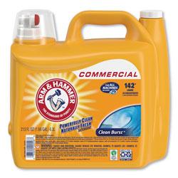 Arm & Hammer® Dual HE Clean-Burst Liquid Laundry Detergent, 213 oz Bottle, 2/Carton