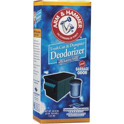 Arm & Hammer® Trash Can/Dumpster Deodorizer, 42.6oz.