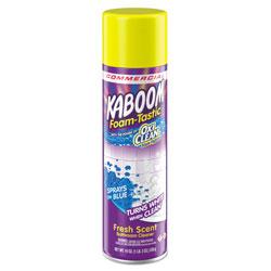 Kaboom Foamtastic Bathroom Cleaner, Fresh Scent, 19 oz Spray Can, 8/Carton