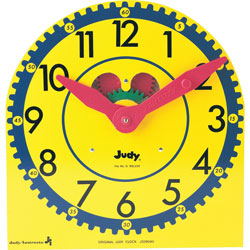 Carson Dellosa Judy Clock, Original, Multiple Colors