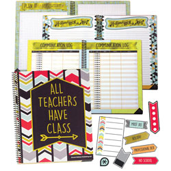 Carson Dellosa Teacher Planner w/Stickers, Aim High, 128-Page, 299/ST
