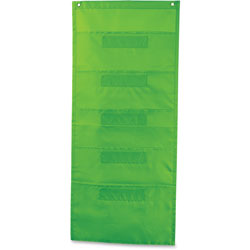 Carson Dellosa File Folder Storage, 5-Pkt 14 in x 32 in, Lime