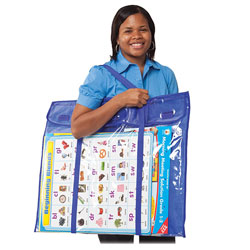 Carson Dellosa Bulletin Board Storage, Deluxe, Multi-Color