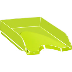CEP Letter Tray, Stackable, 10-1/10 inWx13-7/10 inLx2-3/5 inL, Anise