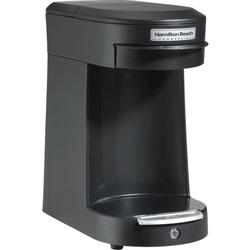 Hamilton Beach/ Procter Silex Coffee Brewer, Single-Serve, F/ 8 Oz. Cup, 500W, Black