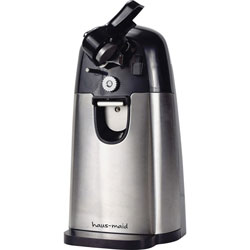CoffeePro Can Opener,Electric,5-3/10 inx4-65/100 inx9-1/10 in ,STST/BK