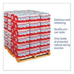 Crystal Geyser Alpine Spring Water, 16.9 oz Bottle, 24/Case, 84 Cases/Pallet
