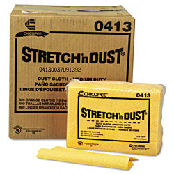 Chicopee Dust Cloth, Yellow, Case of 10