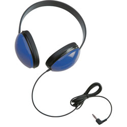 Califone Childs Stereo Headphone, Blue