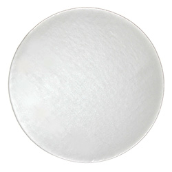 Honeymoon Paper Cake Circle, 8 in, White