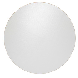 Honeymoon Paper Cake Circle, 12 in, White