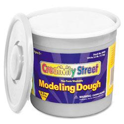 Chenille Kraft Modeling Dough, Non-Toxic, 3.3 lbs, White