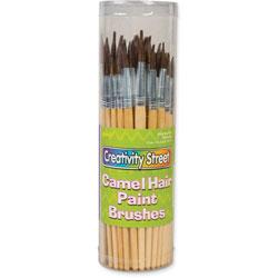 Chenille Kraft Camel Hair Brush Holder Set, 72Pcs/ST, Ast