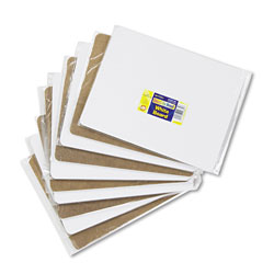 Chenille Kraft Unruled Dry-Erase Student Board, Melamine, 12 x 9, White, 10/Set