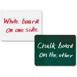 Chenille Kraft Combination Dry-Erase/Chalk Board, 10/Set