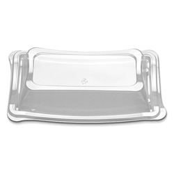 D&W Finepack New Wave 8 in Oblong High Dome Lid