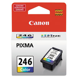 Canon 8281B001(CL-246) ChromaLife100+ Ink, 180 Page-Yield, Tri-Color
