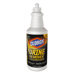 Clorox Urine Remover for Stains and Odors, 32 oz Pull top Bottle