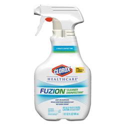 Clorox Fuzion Cleaner Disinfectant Spray, Liquid, 32 oz