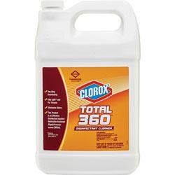 Clorox Disinfectant/Cleaner, f/Electrostatic Sprayer, 128 oz