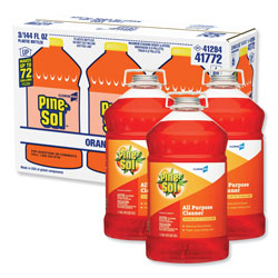 Pine Sol All-Purpose Cleaner, Orange, 144 oz, Bottle