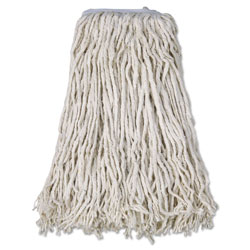 Boardwalk Cotton Mop Head, Cut-End, #32, White, 12/Carton