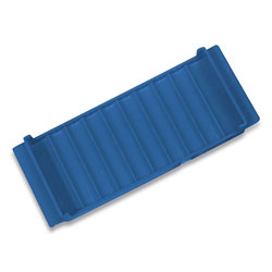 Controltek Stackable Plastic Coin Tray, Nickels, 10 Compartments, Blue