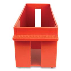 Controltek Coin Tray, Quarters, 1 Compartment, 11.5 x 3.38 x 3.38, Orange
