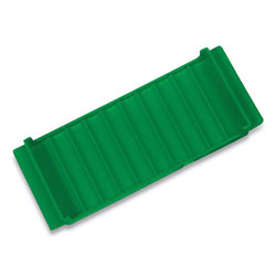 Controltek Coin Tray, Dimes, 10 Compartments, Green
