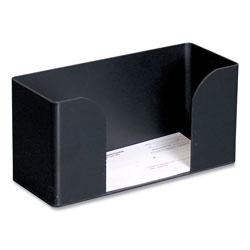Controltek Forms Holder, For Deposit Slips, Tickets, Vouchers, Checks, ABS Plastic, Black
