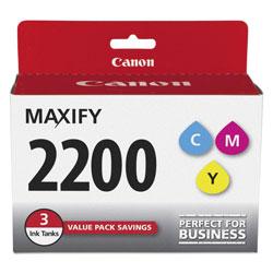 Canon 9304B005 (PGI-2200) Ink, Cyan/Magenta/Yellow