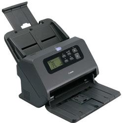 Canon Office Document Scanner, 600 dpi, 80-Sheet Capacity, Black