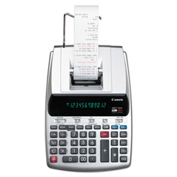Canon MP11DX-2 Printing Calculator, Black/Red Print, 3.7 Lines/Sec