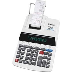 Canon 12-Digit Calculator, w/Printing, 8-7/8 in x 13 in x 3 in, Beige