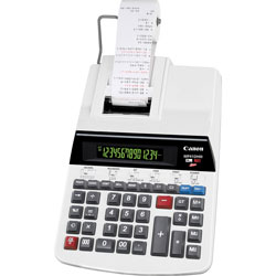 Canon Printing Calculator, 14-Digit, 9 in x 14 in x 3-1/4 in, Gray